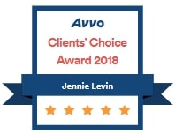 Avvo Clients' Choice Award 2018
