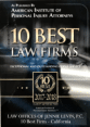 Accolade: 10 Best Law Firms