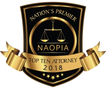 NAOPIA Top Ten Attorney 2018