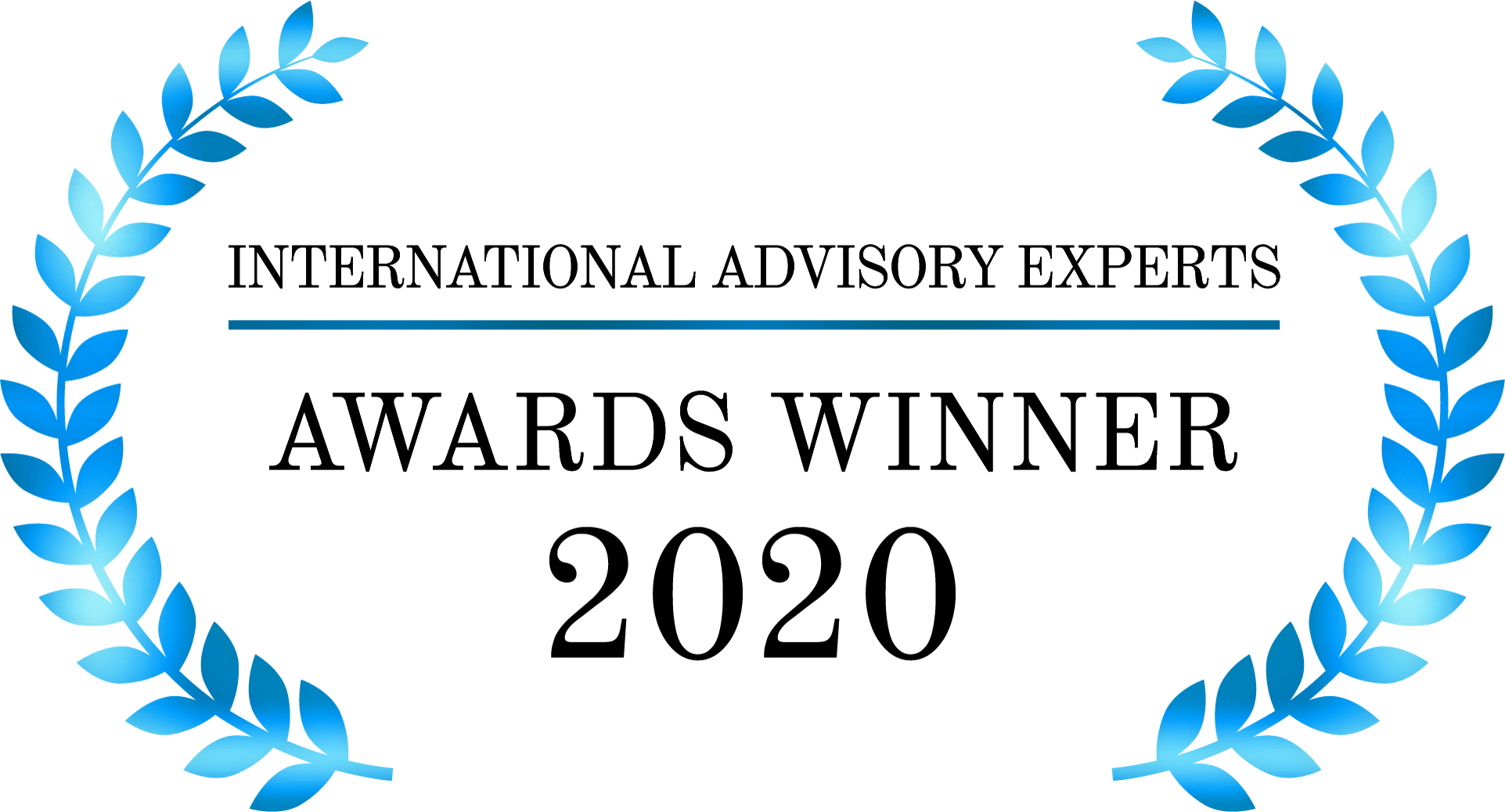 International Advisory Experts Awards Winner 2020